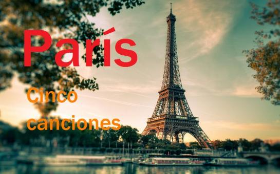 París cinco canciones
