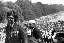 Joséphine Baker durante la Marcha sobre Washington (1963). Fotografía de Leonard Freed (Magnum Photos).
