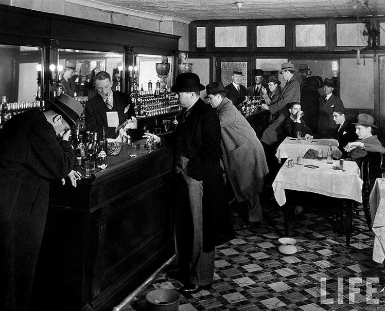 Bar clandestino en Nueva York