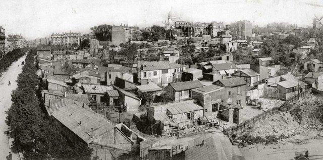 Montmartre a prinpcios del siglo XX