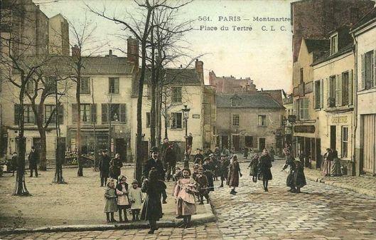 Plaza Du Tertre 1900