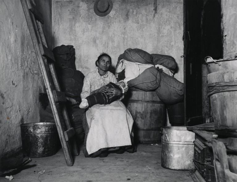 """Home of an Italian Ragpicker."" Via Preus Museum"