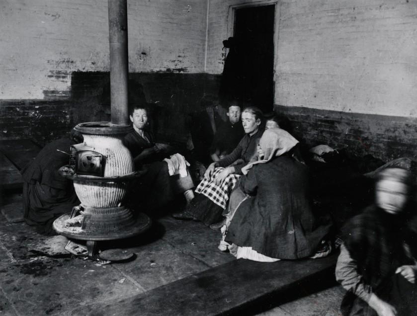 Elizabeth Street Police Station-Womans Lodgers. Via Preus Museum