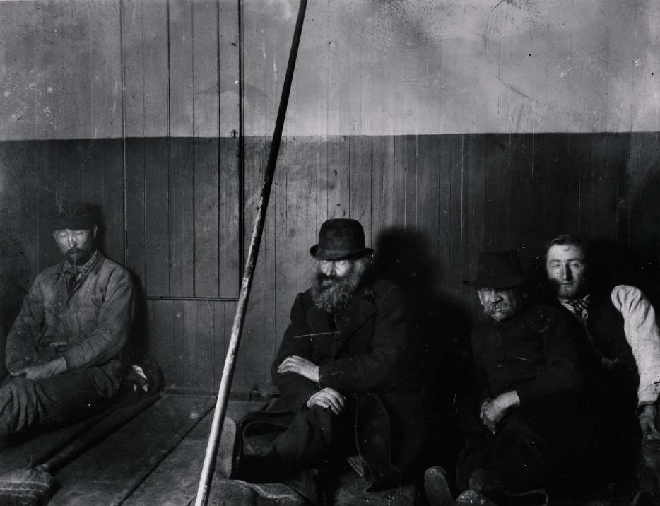 Group of Men. New York. Via Preus Museum