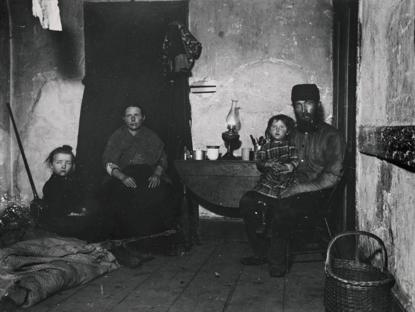 n Poverty Gap, an English Coal-Heaver`s Home. Via Preus Museum