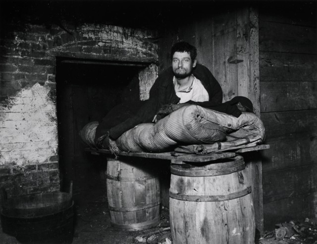 One of four Pedlars Who Slept in the Celler of 11 Ludlow Street Rear. Via Preus Museum