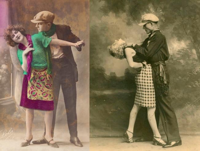 dos-imagenes-de-principios-de-siglo-xx-con-sendas-parejas-danzando-un-baile-apache
