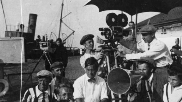 Sergei Eisenstein dirige El acorazado Potemkin